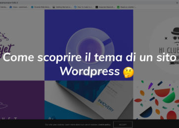 Come scoprire il tema WordPress
